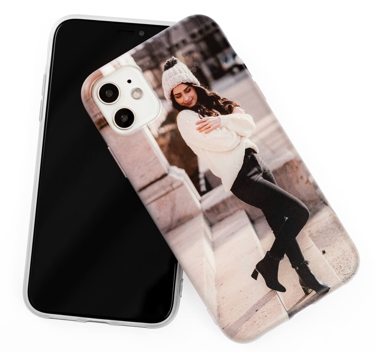 Funda iPhone 12 silicona personalizada