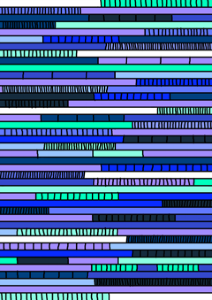 gamiddo texture blue