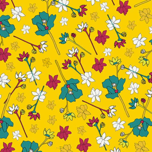 nava fiori colorati