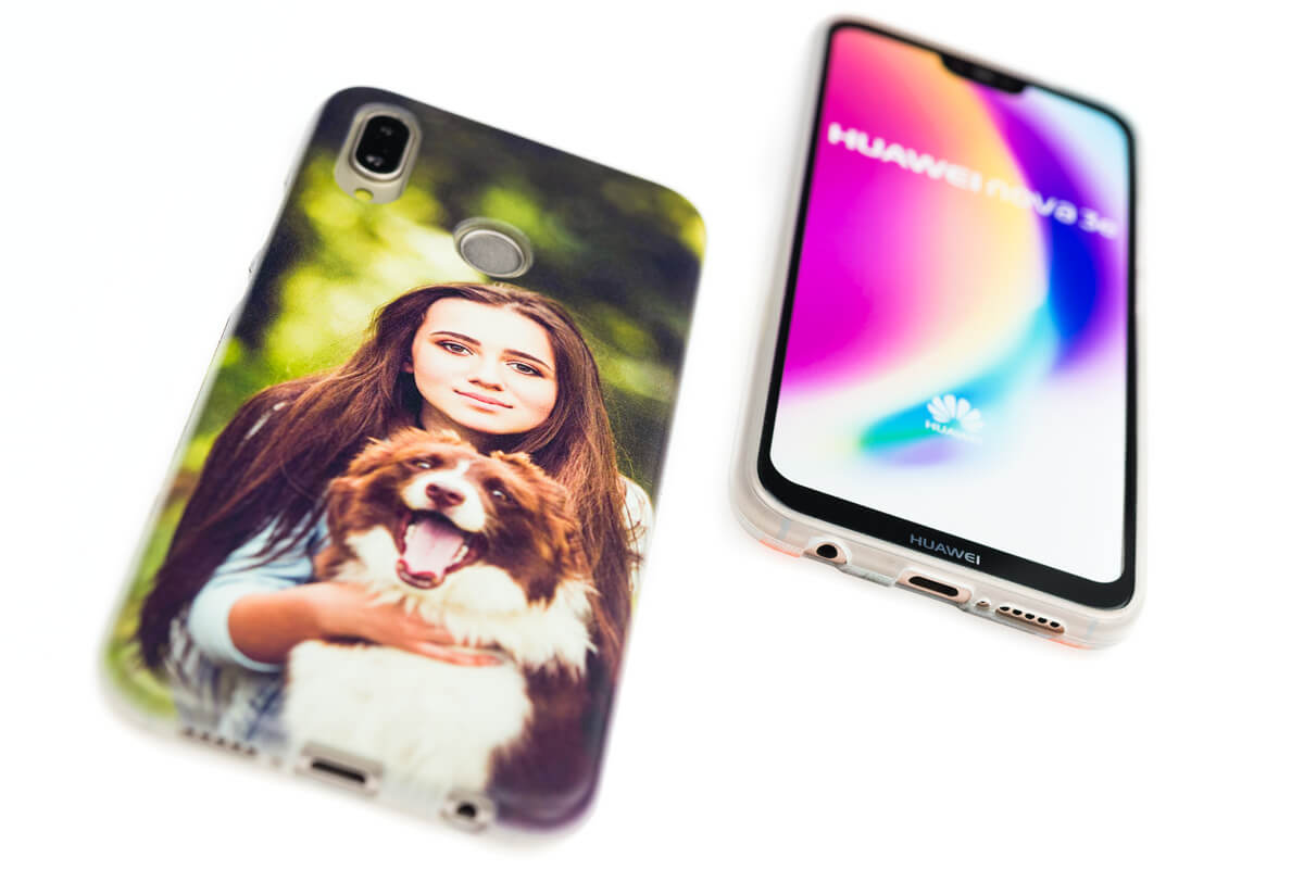 cover huawei silicone personalizzate